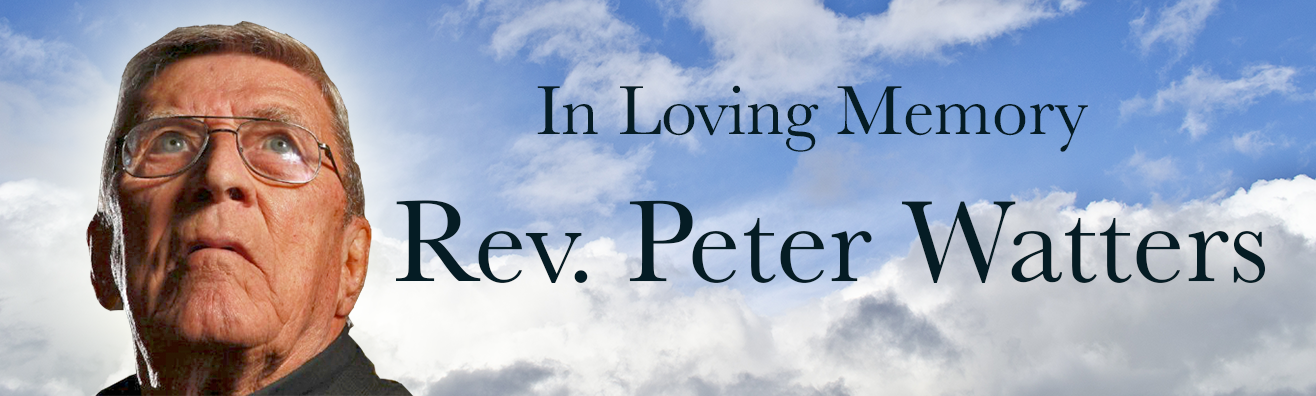 Funeral Arrangements for Fr. Peter Watters