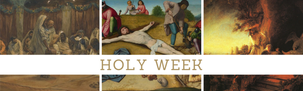 Holy Week Resources for Parishioners