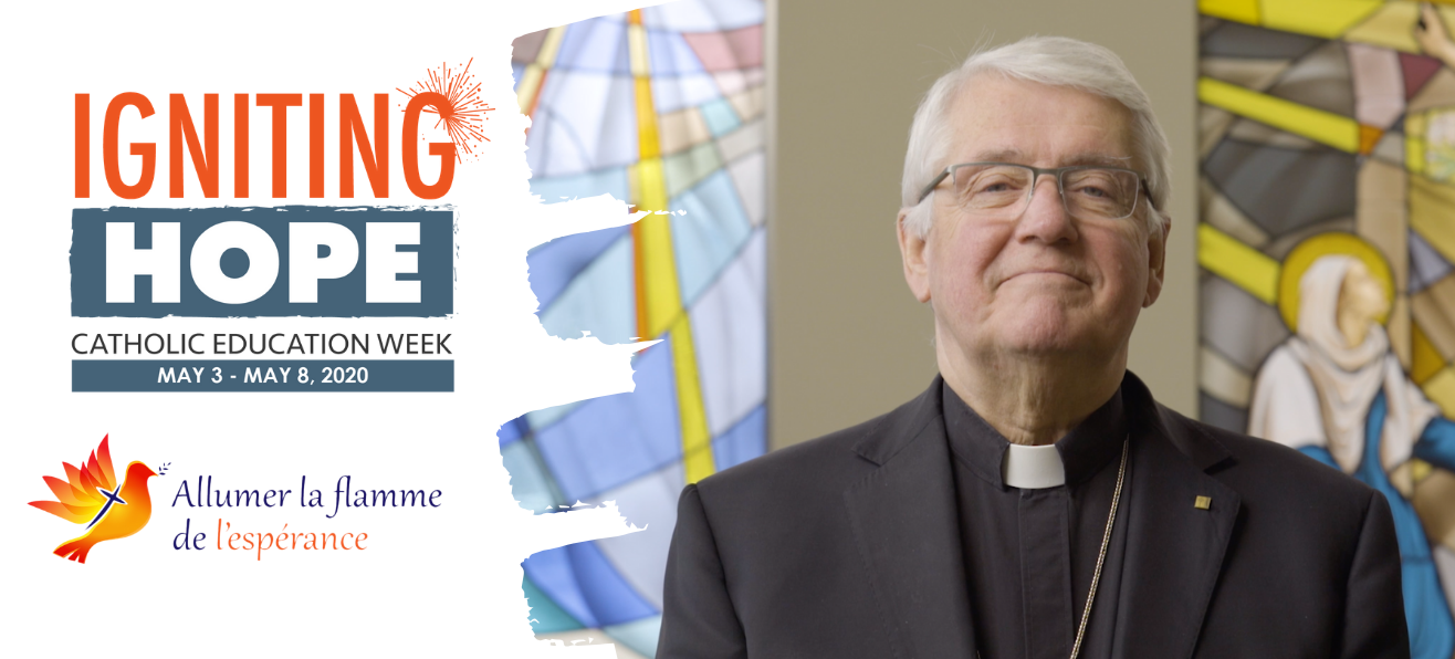 Bishop Crosby's Message for Catholic Education Week
